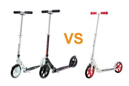 Сравнение Micro Black / White и Razor A5 Lux