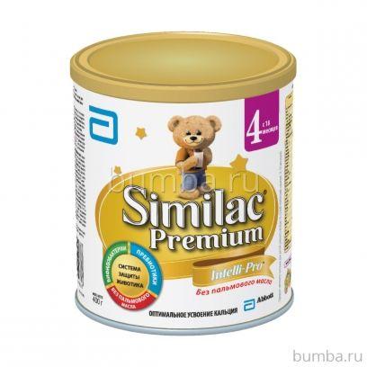Сухая молочная смесь Similac Premium 4 (с 18 мес.) 400 г