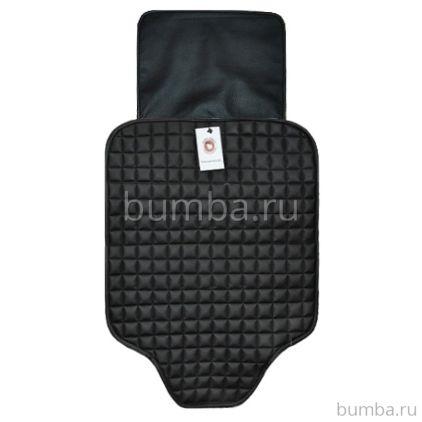 Защитный коврик на сиденье Baby Smile с дополнительной защитой (черный)