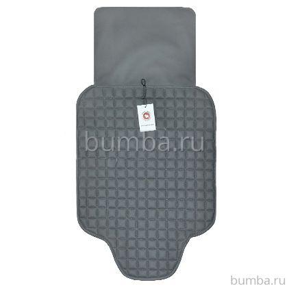 Защитный коврик на сиденье Baby Smile с дополнительной защитой (серый)