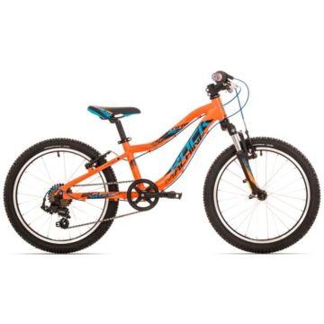 """Велосипед Rock Machine Storm 20"""" (Оранжевый-синий-черный)"""