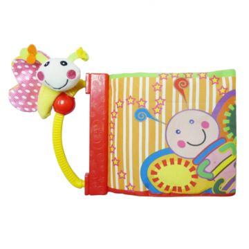 Развивающая игрушка-книга Biba Toys Бабочка-Утенок