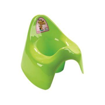 Горшок Dunya Plastik Семер (зеленый)