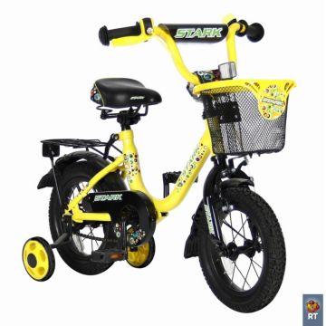 """Детский велосипед Velolider Stark 12"""" Желтый/Черный"""