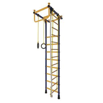 Детский спортивный комплекс Лидер Г-01 М (сине-желтый)