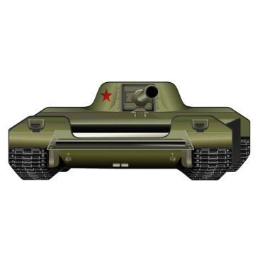 Кровать-танк Кроватка5 World Tank
