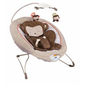Шезлонг Fitch Baby Delux Bouncer (коричневый)