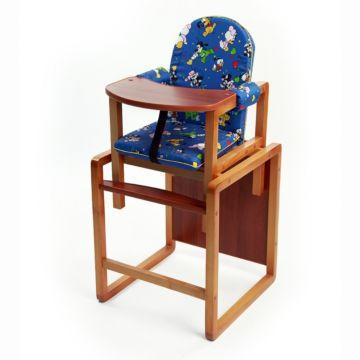 Стул-стол для кормления Вилт Малыш (синий)