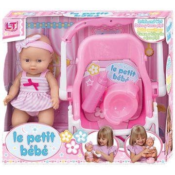 Кукла Loko Le Petit Bebe с автокреслом