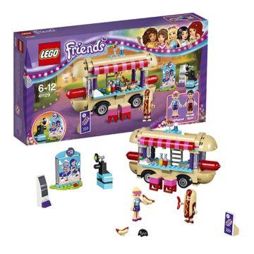 Конструктор Lego Friends 41129 Подружки Парк развлечений: Фургон с хот-догами