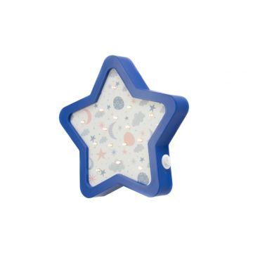 Светодиодный ночник Бельмарко Звезда (синий)