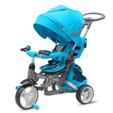 """Трехколесный велосипед Modi Aluminium с ПВХ-колесами 10"""" и 8"""" (Blue)"""