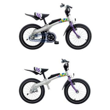 """Беговел-велосипед (2 в 1) Rennrad 16"""" (сиреневый)"""