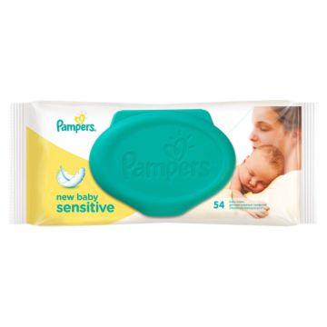 Влажные салфетки для детей Pampers New Baby Sensitive 54 шт