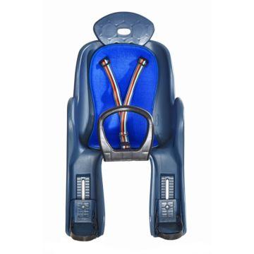 Велокресло на багажник Vinca Sport до 22 кг (синий)