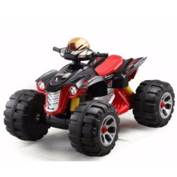 Электромобиль Bambini Big Kvadro (красно-черный/red&black)