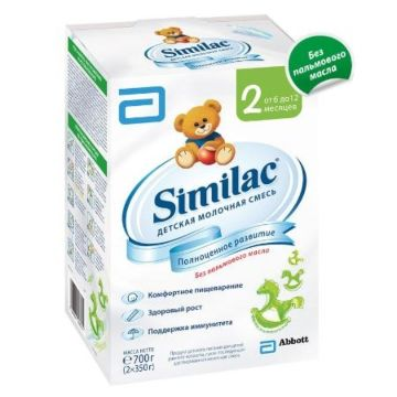 Сухая молочная смесь Similac 2 (6-12 мес.) 700 г