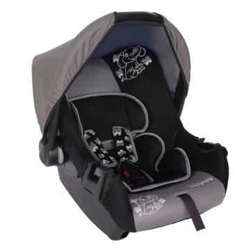 Автолюлька Baby Care BC-322 Слоник Люкс (серый)