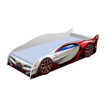 Кровать-машина Кроватка5 Бугатти (красная)