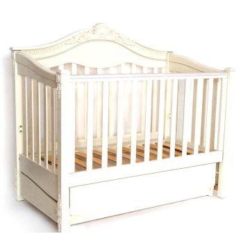 Кроватка детская Birichino Victoria с поперечным маятником (орех)