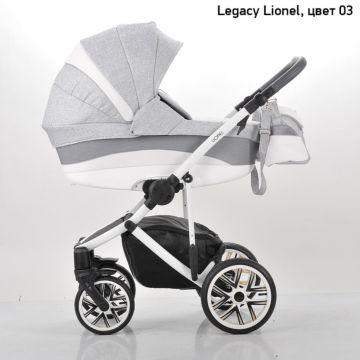Коляска 2 в 1 Legacy Lionel (комбинированный серый)