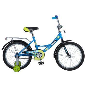 """Детский велосипед Novatrack Urban 18"""" (2016) синий"""