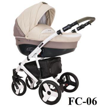 Коляска 3 в 1 Coletto Florino Carbon (FC-06)
