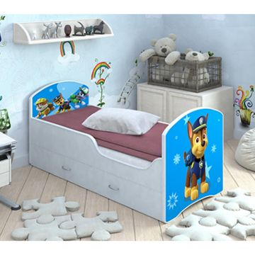 Кровать с ящиками Мебель Мечты Classic (гонщик Чейз)
