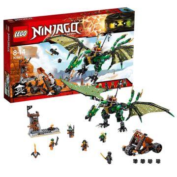 Конструктор Lego Ninjago 70593 Ниндзяго Зеленый дракон