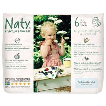 Подгузники-трусики Naty 6 (16+ кг) 18 шт