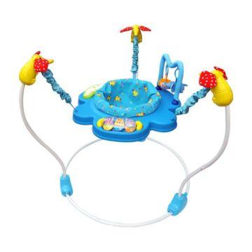 Прыгунки с игрушками, музыкой La-Di-Da