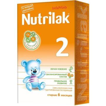 Сухая молочная смесь Nutrilak 2 (с 6 мес.) 350 г