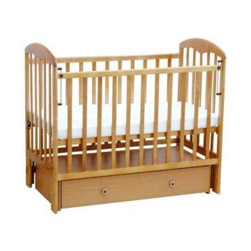 Кроватка детская Фея 328 светлая (универсальный маятник) (Натуральный)