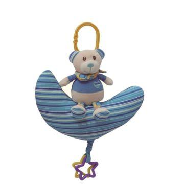 Развивающая игрушка-подвеска I-Baby Мишка на луне