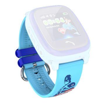 Ремешок силиконовый SmartBabyWatch W9 (голубой)