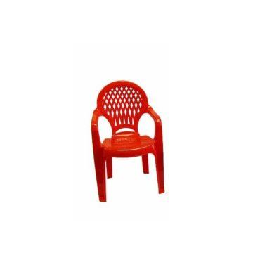 Стульчик детский Полимербыт (Красный)