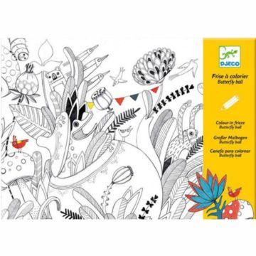 Набор для творчества Djeco Раскраска Бал бабочек