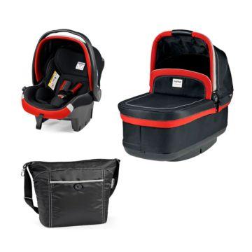Комплект для коляски Peg-Perego Navetta XL 1 (чёрно-красный)