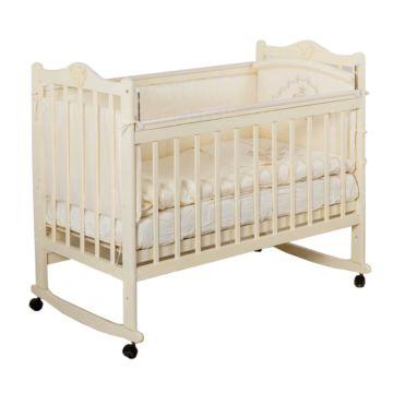 Кроватка детская Incanto Pali (Качалка-колесо) (слоновая кость)
