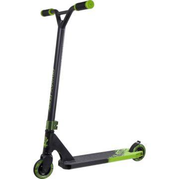 Трюковый самокат Slamm Assault Scooter (черный/зеленый)
