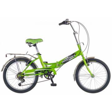 """Велосипед складной Novatrack FS30 20"""" (2016) салатовый"""