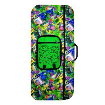 Сумка ST15 с карманом для самоката с большими колесами (разноцветная)