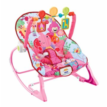 Шезлонг Fitch Baby Infant-To-Toddler Rocker (розовый)