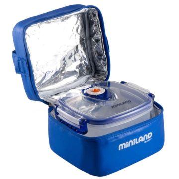 Термосумка Miniland Pack-2-Go-Hermifresh с 2 вакуумными контейнерами (Синий)