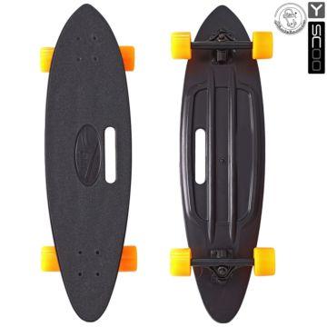 """Лонгборд Y-Scoo Fish Skateboard 31"""" с ручкой и сумкой"""