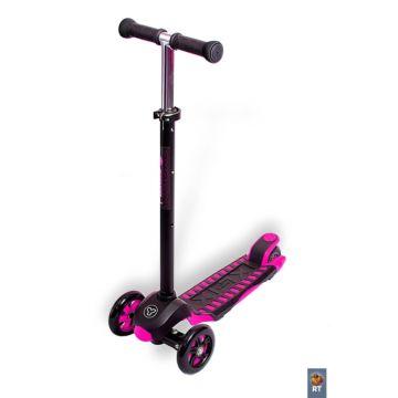 Самокат Y-bike Glider Maxi XL Deluxe (розовый)