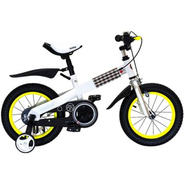 "Детский велосипед Royal Baby Buttons Steel 18"" (желтый)"