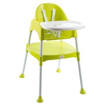 Стульчик для кормления FunKids Eat and Play (зеленый)