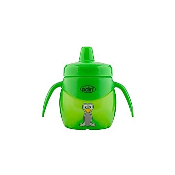 Поильник Adiri Penguin Jr. Trainer Green 200 мл