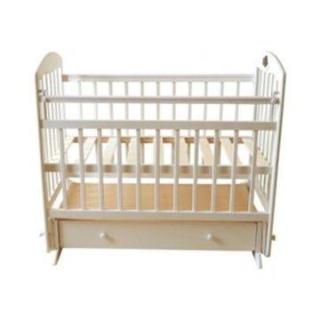 Кроватка детская Briciola 11 с поперечным маятником (слоновая кость)